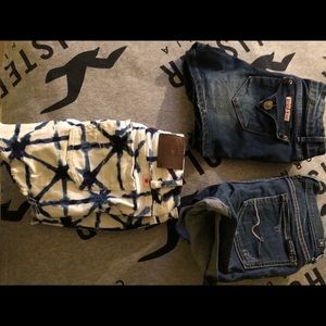 7 for all mankind Hudson lucky brand shorts
